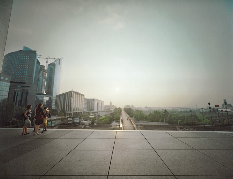 La Defence (looking west) , Paris