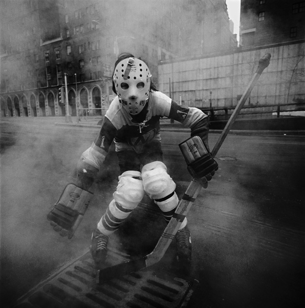 Hockey Player, New York City, NY