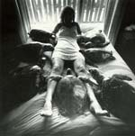 Arthur Tress - Woman with Seven Sea Turtles, Bahamas Click for more Images