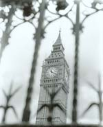 Dave Rudin - The Clock Tower of Parliament, London, 2001 Click for more Images