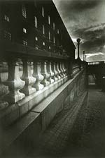 Otmar Uve Thormann - Stone Balustrade at Twilight Click for more Images