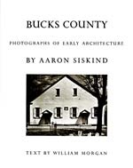 Bucks County: Photographs of Early Architecture