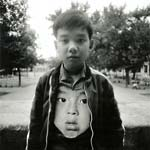 Arthur Tress - Boy with Chinese Mask, New York City, NY Click for more Images